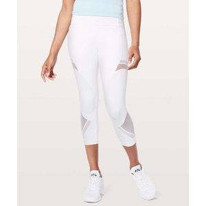Lululemon Forget The Sweat Crop *21""
